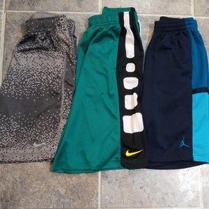 Nike/Jordan 3 (or 4) boys shorts